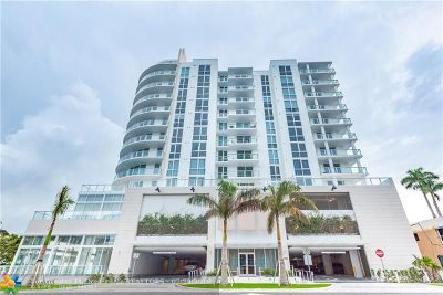 Fort Lauderdale Condo/Townhouse For Sale: 401 N Birch Rd #506