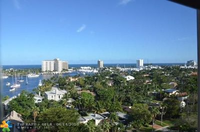 Fort Lauderdale Condo/Townhouse For Sale: 340 Sunset Dr #1210