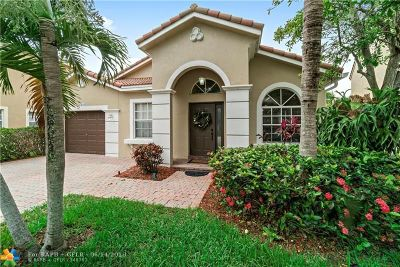 Coral Springs Single Family Home For Sale: 12611 NW 6th St