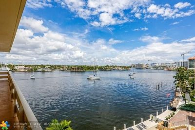 Fort Lauderdale Condo/Townhouse For Sale: 9 N Birch Rd #603