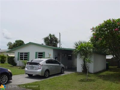 Sunrise Single Family Home For Sale: 5940 NW 13th St