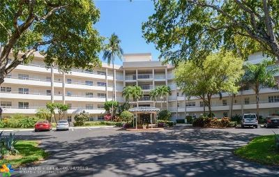Pompano Beach Condo/Townhouse For Sale: 3800 Oaks Clubhouse Dr #104
