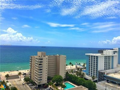 Fort Lauderdale Condo/Townhouse For Sale: 3101 Bayshore Dr #1405