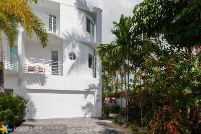 Fort Lauderdale Condo/Townhouse For Sale: 433 Hendricks Isle #D