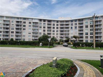 Boca Raton Condo/Townhouse For Sale: 2851 S Ocean Blvd #1V