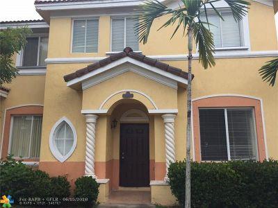 Homestead Condo/Townhouse For Sale: 2529 SE 15th Pl #192