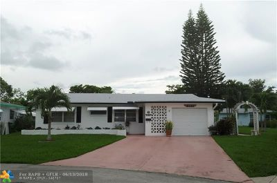 Tamarac Single Family Home For Sale: 6111 NW 69th Ave
