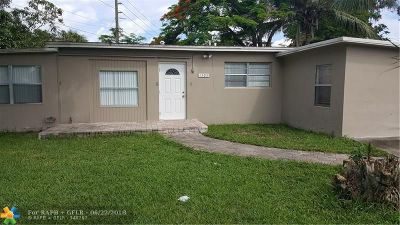 Margate Single Family Home For Sale: 1305 NW 58th Ave
