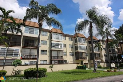Plantation Condo/Townhouse For Sale: 7100 NW 17th St #405