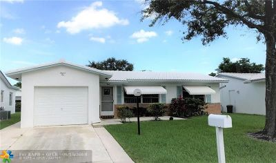Plantation Single Family Home For Sale: 1610 NW 87th Ln