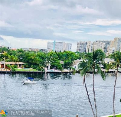 Fort Lauderdale Condo/Townhouse For Sale: 3100 NE 49th St #505