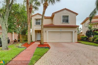 Coral Springs Single Family Home For Sale: 6230 NW 38th Dr