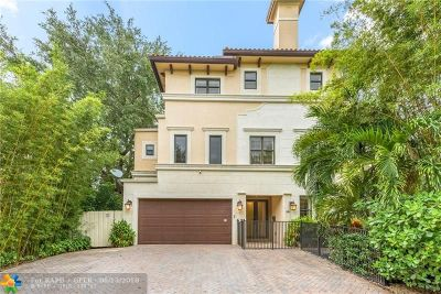 Fort Lauderdale Condo/Townhouse For Sale: 1503 NE 2nd St #1503