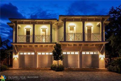 Fort Lauderdale Condo/Townhouse For Sale: 1548 Argyle Dr #1548