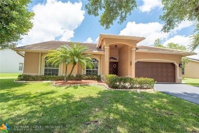 Coral Springs Single Family Home Backup Contract-Call LA: 8925 NW 45th Ct