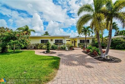 Wilton Manors Single Family Home For Sale: 633 NW 28th St