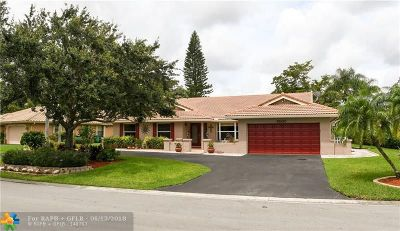 Coral Springs Single Family Home For Sale: 5030 NW 84th Rd