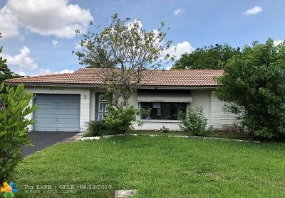 Tamarac Single Family Home For Sale: 8104 NW 91st Ave