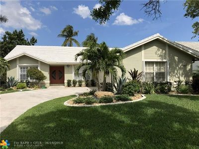 Plantation Single Family Home For Sale: 1630 NW 101st Way