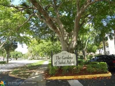 Tamarac Condo/Townhouse For Sale: 5155 E Sabal Palm Blvd #210