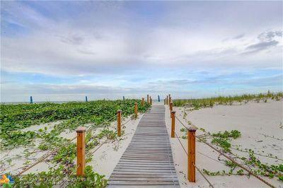 Fort Lauderdale Condo/Townhouse For Sale: 3600 Galt Ocean Dr #8D