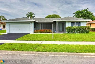 Tamarac Single Family Home For Sale: 6411 NW 89th Ave