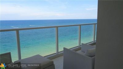 Pompano Beach Condo/Townhouse For Sale: 1000 S Ocean Blvd #15P