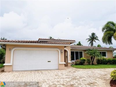 Pompano Beach Single Family Home For Sale: 251 SE 12 St