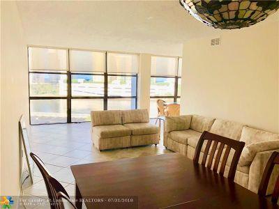 Hallandale Condo/Townhouse For Sale: 1000 Parkview Dr #602