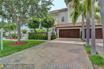 Fort Lauderdale Single Family Home For Sale: 2616 NE 14th St