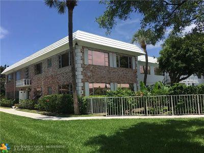 Pompano Beach Condo/Townhouse For Sale: 400 S Cypress Rd #409