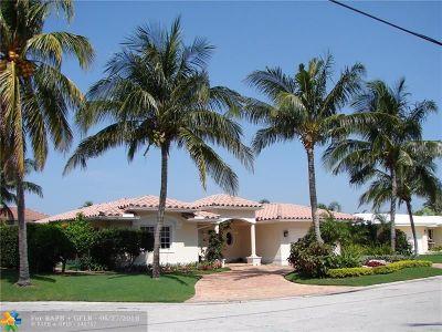 Fort Lauderdale Single Family Home For Sale: 5211 NE 33rd Ave
