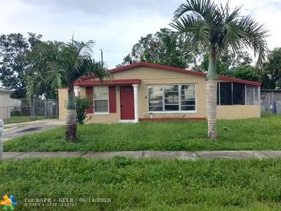 Pompano Beach Single Family Home For Sale: 1732 NW 6th Ter