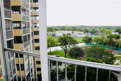 Coral Springs Condo/Townhouse For Sale: 10777 W Sample Rd #810