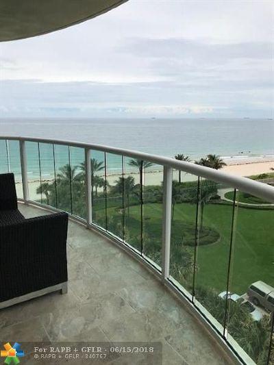 Fort Lauderdale Condo/Townhouse For Sale: 3400 Galt Ocean #608 S