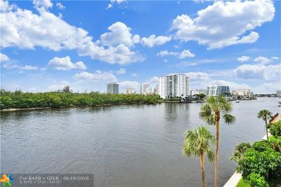 Fort Lauderdale Condo/Townhouse For Sale: 936 NE Intracoastal Dr #4D