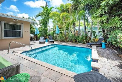 Wilton Manors Single Family Home For Sale: 2800 NE 9th Terrace