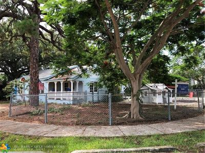 Fort Lauderdale Residential Lots & Land For Sale: 1500 NE 4th Pl