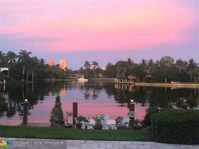 Fort Lauderdale Single Family Home For Sale: 2214 NE 22nd Ter