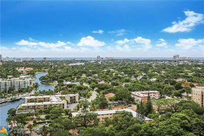 Fort Lauderdale Condo/Townhouse For Sale: 347 N New River Dr #2201