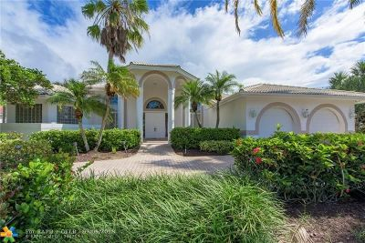 Coral Springs Single Family Home Backup Contract-Call LA: 1425 NW 127th Way