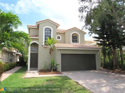 Pembroke Pines Single Family Home For Sale: 17134 NW 12th Ct