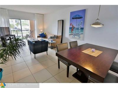 Fort Lauderdale Condo/Townhouse For Sale: 4143 N Ocean Blvd #203