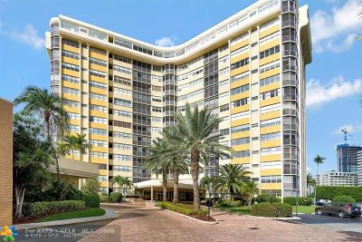 Hallandale Condo/Townhouse For Sale: 100 Golden Isles Dr #803