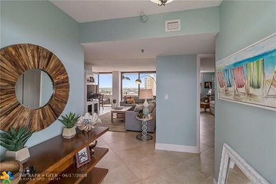 Pompano Beach Condo/Townhouse For Sale: 1500 N Ocean Blvd #801