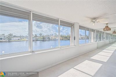 Fort Lauderdale Condo/Townhouse For Sale: 3100 NE 49th St #202