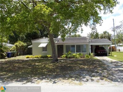 Tarpon River Single Family Home For Sale: 901 SW 9th Ave