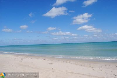 Pompano Beach Condo/Townhouse For Sale: 1900 S Ocean Blvd #14N