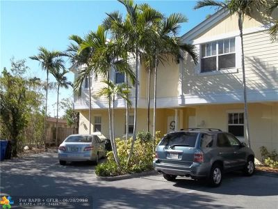 Fort Lauderdale Condo/Townhouse For Sale: 840 NE 14th Pl #840