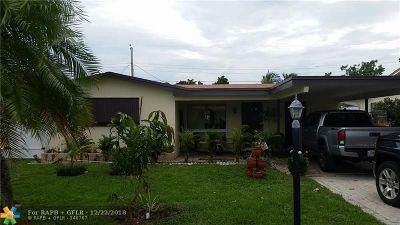 Pompano Beach FL Single Family Home For Sale: $295,888